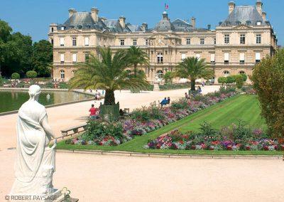 Travaux de rénovation dans le Jardin du Luxembourg