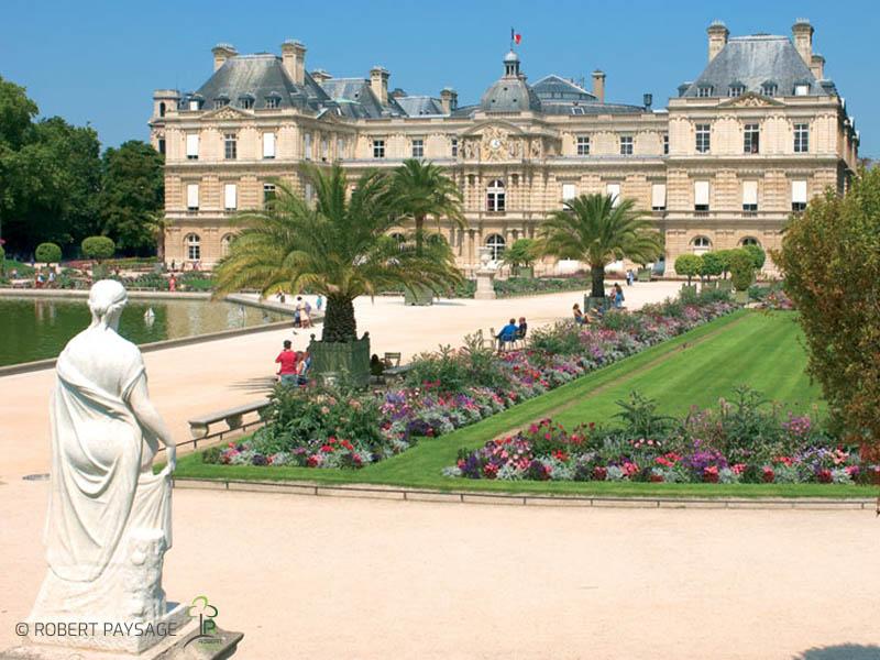 Plantations au palais du Sénat, Paris