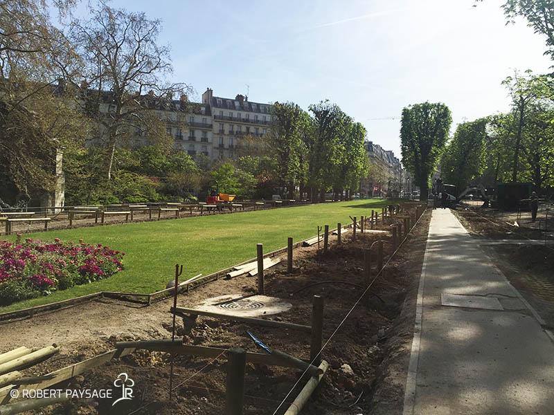 Rénovation du jardin du Luxembourg