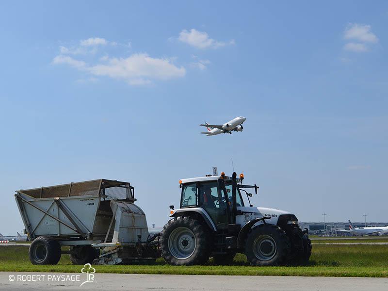 Entretien des espaces verts des aeroports de Paris
