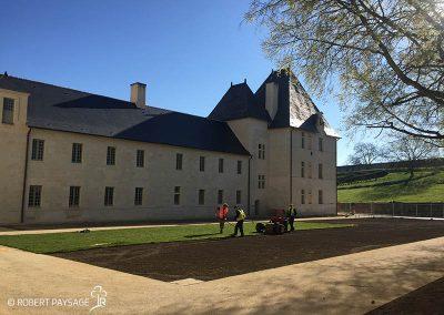 Théâtre de verdure de l'Abbaye de Fontevraud