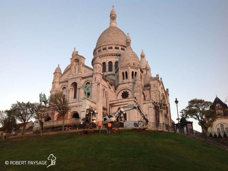 Paris fouilles plantations 5