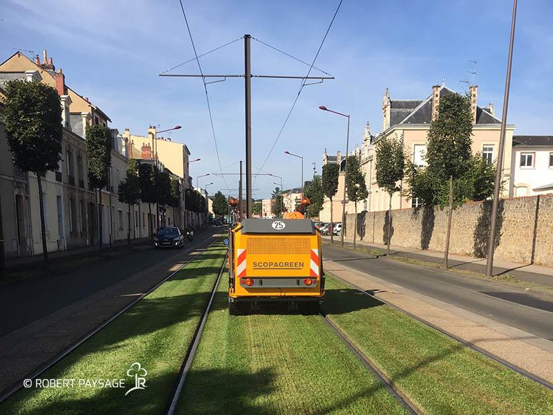entretien tramway Mans 3