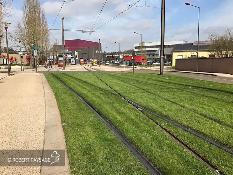 entretien tramway Mans 4