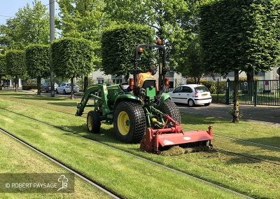 Entretien du tramway de Nantes